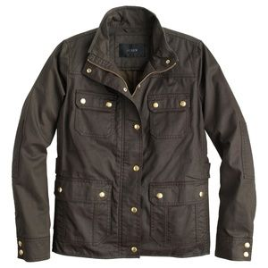 J.Crew downtown field military utility jacket S